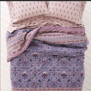 ISO UO comforter/sheets.Hazelle Snooze set FQ